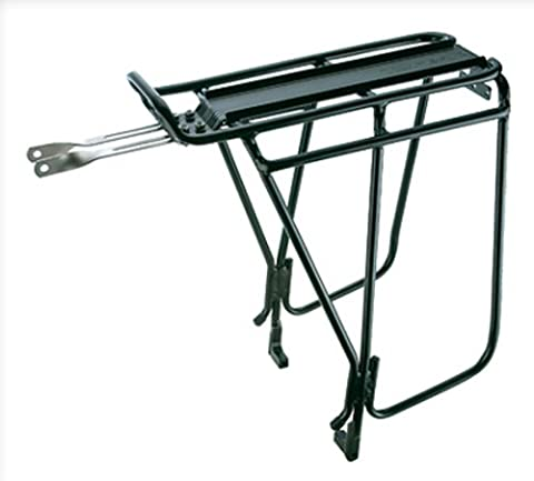 Topeak Super Tourist Tubular Bicycle Trunk Rack DX with Side Bar for Disc Brake Bikes (Bike Rack Disc Brake)