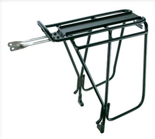 Rack Cooler Rear (Topeak Super Tourist Tubular Bicycle Trunk Rack DX with Side Bar for Disc Brake Bikes)
