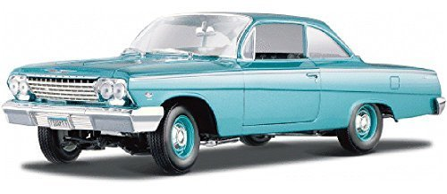- 1962 Chevy Bel Air, Turquoise - Maisto 31641 - 1/18 Scale Diecast Model Toy Car