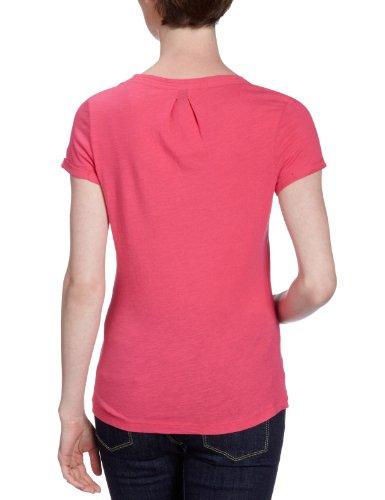 Lerros - Camiseta con cuello de pico de manga corta para mujer Rosa (Raspberry Sorbet 838)
