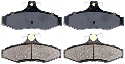 Disc Brake Pad Set-Service Grade Ceramic Disc Brake Pad Rear Raybestos SGD1281C