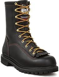 Georgia Men's 8' Gore-Tex Waterproof Low Heel Insulated Logger Work Boots®G8040