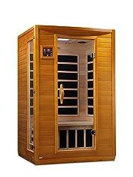 "Dynamic ""Andora"" 2-person Low EMF Far Infrared Sauna"