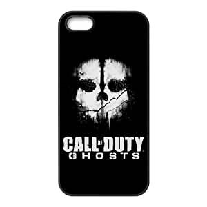 Fashion Call of Duty Ghosts Personalized iPhone 5,5S PC Silicone Case Cover