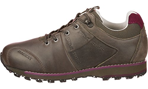 Mammut Alvra Low Leather Casual Shoe - Womens-Dark 3020-5830-7407-US 8 sIPzH1h2L
