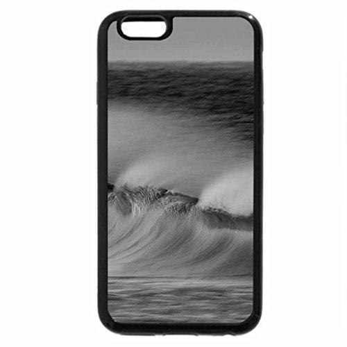 iPhone 6S Case, iPhone 6 Case (Black & White) - Perfect Wave