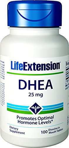 (Life Extension DHEA 25 Mg, 100 Tablets (Dissolve in the mouth) )