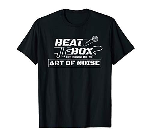 Beatbox Shirt - Art of Noise Beatboxing Microphone T-Shirt