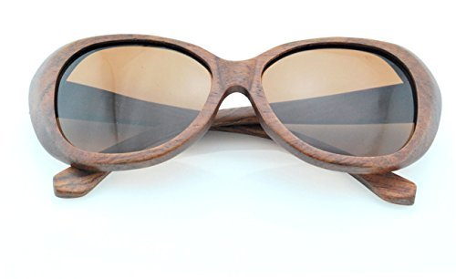 Wood Life Handmade Natural Hardwood100% Uv400 Unisex Polarized Sunglasses Red Lenses UVA Retro Fashionable Outdoor - Sunglasses Necessary Is