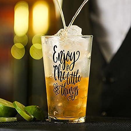 Copa de vidrio SVG Cita Art, Cita, Arte dicho, Cita, Arte de pared, Silueta de vidrio para agua, zumo, cerveza, licor, whisky en boda, fiesta, día de la madre, día del padre, cumpleaños.