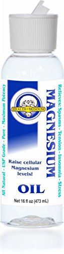 Health and Wisdom Inc, Magnesium Oil, Flip Top Cap, 16 oz