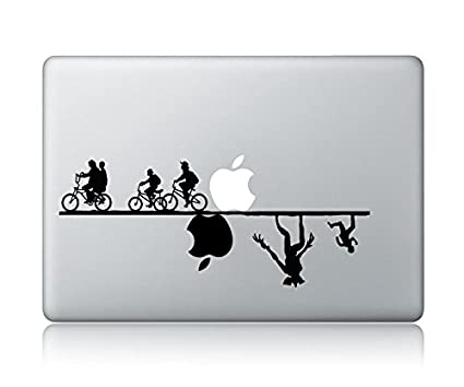 Stranger things v1 apple macbook laptop vinyl sticker decal skin