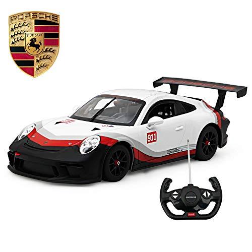 Licensed RC Car 1:14 Scale Porsche 911 GT3 Cup | Rastar Radio Remote Control 1/14 RTR Super Sports Car Model (Porsche Cup Gt3)