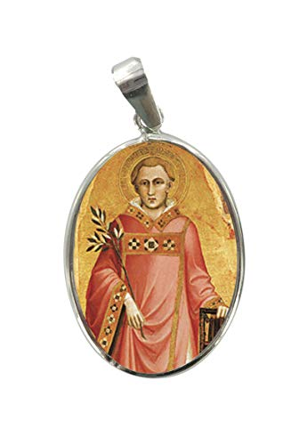 Ferrari-Arrighetti-Medalla-San-Lorenzo-de-Plata-925-y-Porcelana-3-cm