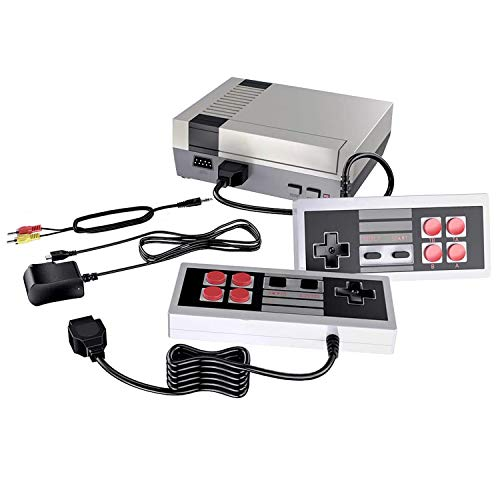 Retro recreation console, AV and HDMI HD Output - NES Console with Built-in 620 NES Classic Edition Retro Games and a pair of Controller.Supporting & TV Connection,-Four buttons