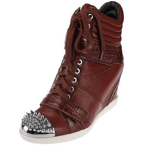8461fa6b1716d cheap Boutique 9 Nevan femmes Wedge Sneaker - Rouge - Bordeau, 38 ...