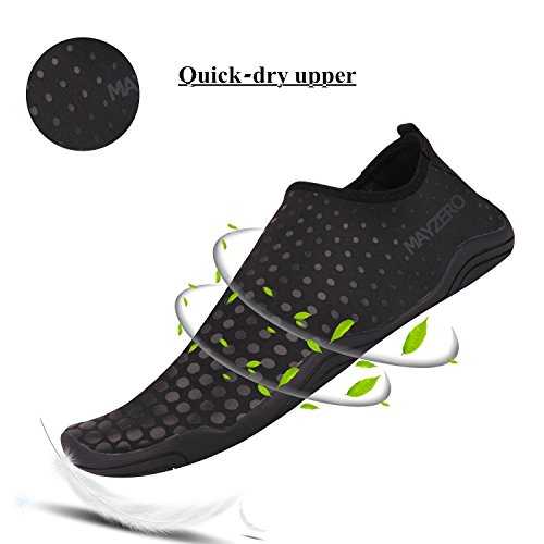 Socks Pool Dry Men black 7 Beach Swim Barefoot Shoes Water WXDZ Walking Running Sports Quick Women Aqua Shoes 7wzzYqC