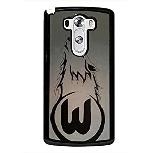 VfL Wolfsburg Logo Case Design AS71EW4 Hrad Plastic Case Cover For LG G3