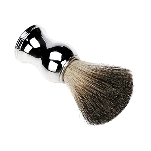 Price comparison product image DDLBiz Luxury Soft Hair Shaving Brush Alloy Handle Best Shave Barber Tool