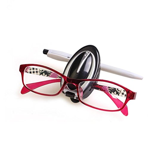 Iuhan Fashion New Car Sun Visor Glasses Sunglasses Ticket Receipt Card Clip Storage Holder - Sunglasses Subaru