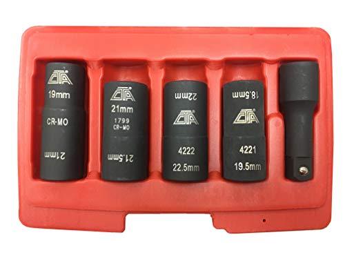 CTA Tools 1463 5 Pc. Flip Socket Set - Flip Socket Set