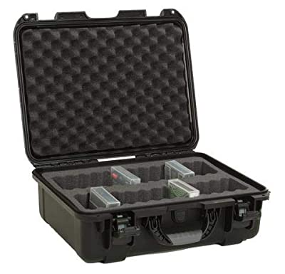 Turtle Case LTO Tape Waterproof Protective Case - 30 Capacity (with Jewel case) from TURTLE