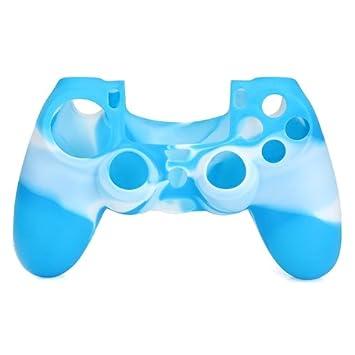 Funda Carcasa Silicona de Mando Consola para PS4 Playstation ...
