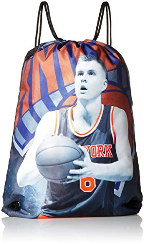 New York Knicks Porzingis K. #6 Player Printed Drawstring Backpack
