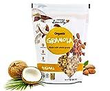 Grandma Emily Organic Original Granola Cereal Made With Almonds and Coconut 11.64 oz (4 Pack)