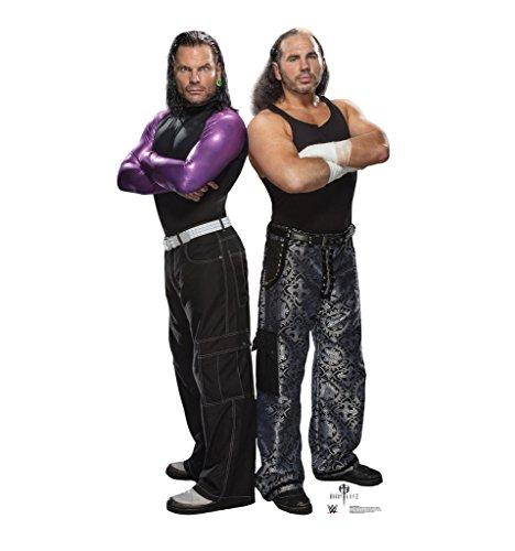 Wwe Cut Out - The Hardy Boyz - WWE - Advanced Graphics Life Size Cardboard Standup