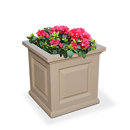 Mayne 5865-C Nantucket Polyethylene Planter, 16