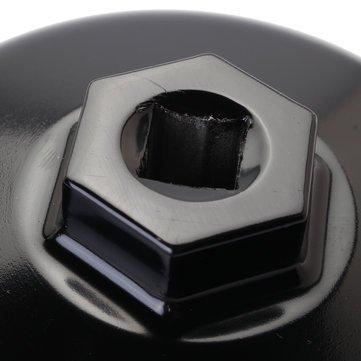 Zócalo de la herramienta del removedor del casquillo de la vivienda de la llave del filtro de aceite de aluminio 86m m: Amazon.es: Bricolaje y herramientas