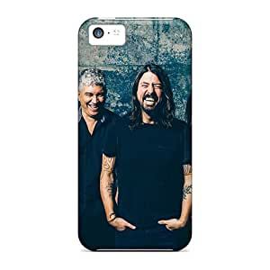 Shock-Absorbing Hard Phone Case For Iphone 5c (sLk16943jRow) Support Personal Customs Vivid Red Hot Chili Peppers Series