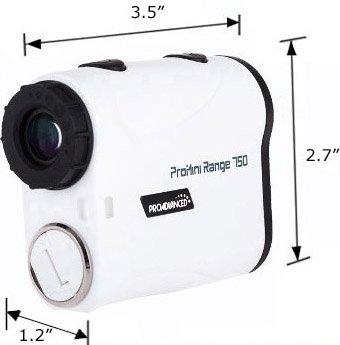 ProMini Range 750 - Laser Rangefinder - Golf Range Finder - 2 Year Warranty - Father's Day by ProAdvanced (Image #6)