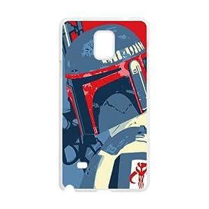 SKULL Star Wars Cell Phone Case for Samsung Galaxy Note4 hjbrhga1544