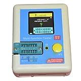Minzhi Transistor Tester Diode Triode Capacitance Inductor Meter LCR ESR NPN PNP IR Multifunction Tester LCR-T7