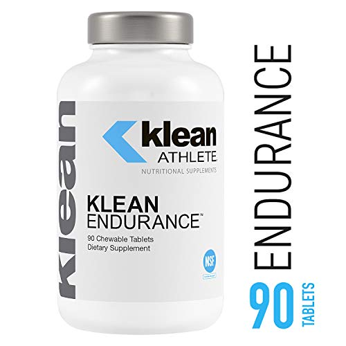 Flavor Creme Vanilla - Klean Athlete - Klean Endurance - Helps Restore Energy, Support Cardiac Function and Reduce Muscle Fatigue - NSF Certified for Sport - Vanilla Crème Flavor - 90 Chewable Tablets