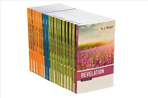 New Testament For Everyone Set, 18 Volumes (The New Testament for Everyone)