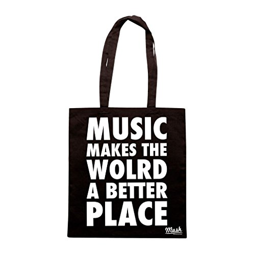 Borsa Music Makes The World A Better Place - Nera - Music by Mush Dress Your Style