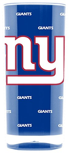 Glass Giants York New - NFL New York Giants 16oz Insulated Acrylic Square Tumbler