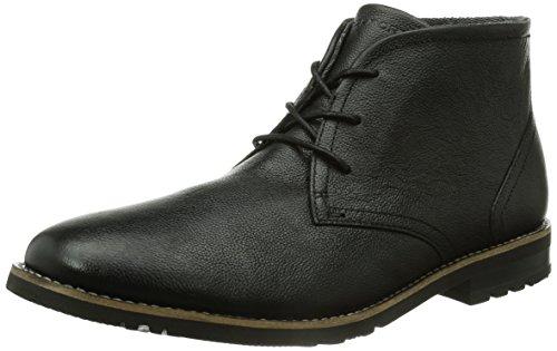 RockportLH2 CHUKKA - botas chukka sin forro Hombre Negro