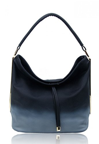 Cross Bags Clearance Tote Bag Sale Hobo Women's CW931 Body Large Shoulder Faux Leather LeahWard Black Handbags Bag zPYUxExq