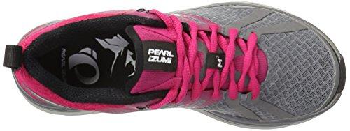 Pearl Izumi Donna Em Trail M2 V3 Scarpa Da Corsa Perlato Fumé / Rosa Brillante