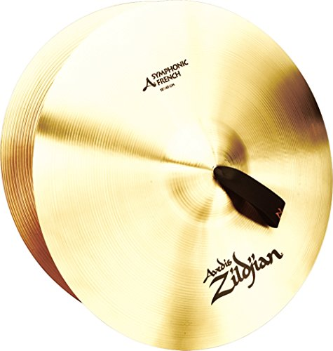 Zildjian A Symphonic French Tone Crash Cymbal Pair 18 in. French Orchestral Cymbal