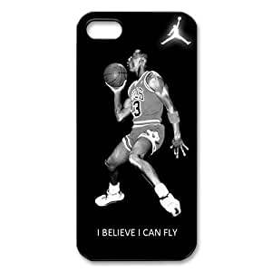 Michael Air Jordan I Believe I Can Fly Apple iPhone 5/5s Best Durable Case Cover