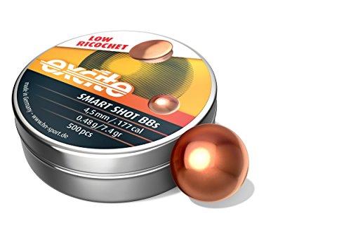 H&N Excite Smart Shot Copper Coated BBs 177 Caliber / 7.4 Grains...