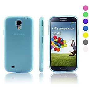 ZXC Samsung S4 I9500 compatible Solid Color Silicone Back Cover , Gray