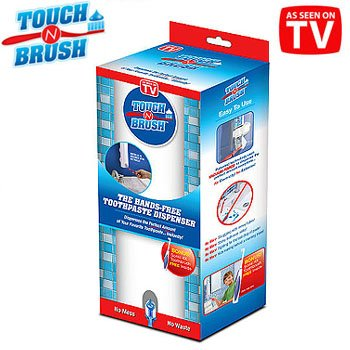 Price comparison product image Touch n Brush Hands Free Toothpaste Dispenser