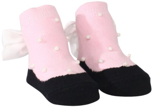 Mud Pie Newborn Baby-Girls Socks with Pearls & Bow