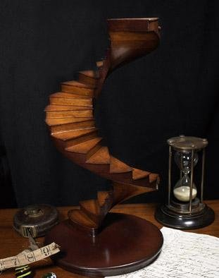 St. Peters Spiral Staircase Model